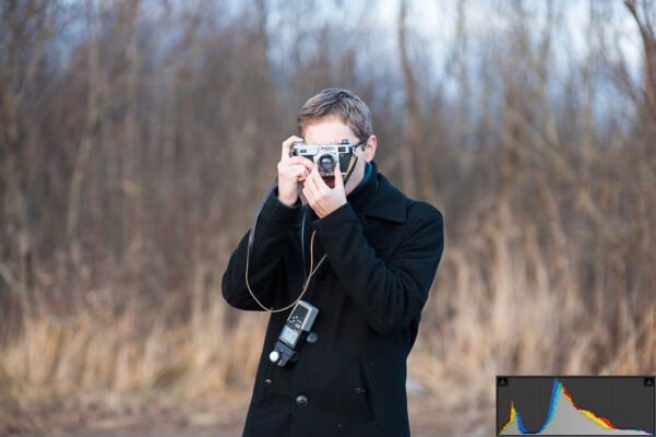 هیستوگرام در عکاسی