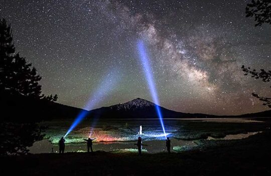 عکاسی از آسمان شب