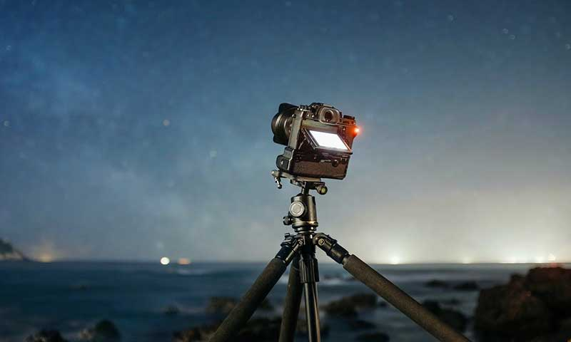 تجهیزات لازم برای عکاسی آسمان شب