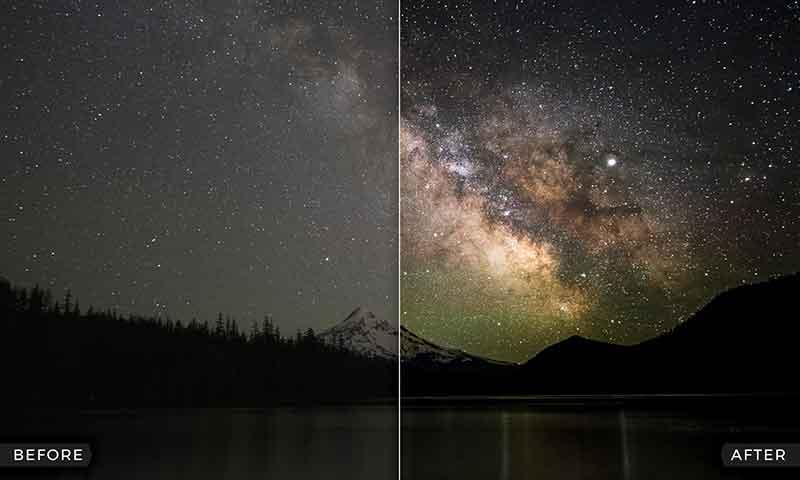آموزش های عکاسی، ویرایش عکس، آسمان شب، عکاسی با موبایل، ادیت با موبایل به صورت علمی و تخصصی