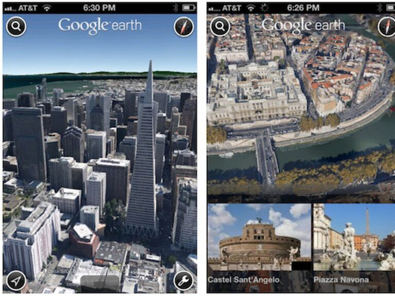 اپلیکیشن Google Earth